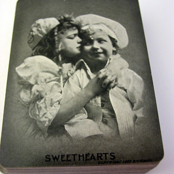 """Sweethearts"" Playing cards - Cards"