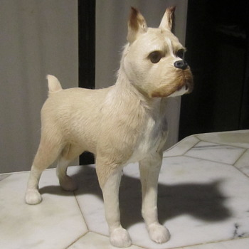 Fox Terrier Life-Like Dog w/ fine Hair... Beautifully Balanced,Lightweight Construction - Animals