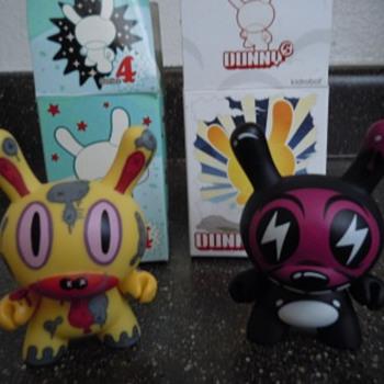 KidRobot Gary Baseman etc dunnys - Animals