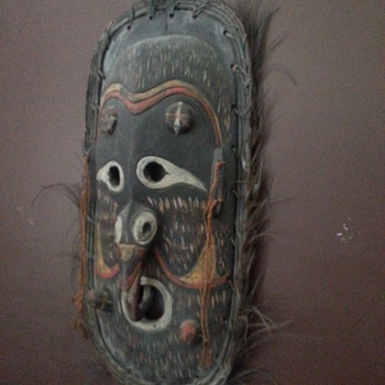 ANGORAM TRIBAL MASK - Fine Art