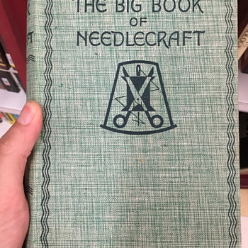 The Big Book of Needlecraft and Cookery illustrated and Household Management.
