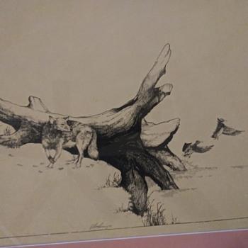 Lithograph - Fine Art