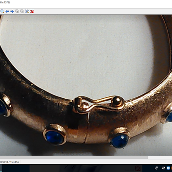 Looking For Info On This Trifari Bangle Bracelet - Costume Jewelry