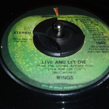 45 RPM SINGLE....#131 - Records