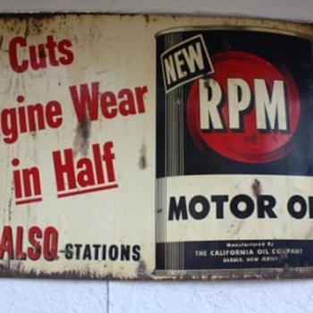 RPM Motor Oil - Petroliana