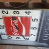 4 x 3 coke clock