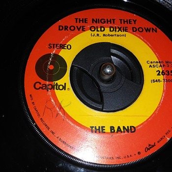 45 RPM SINGLE....#27 - Records