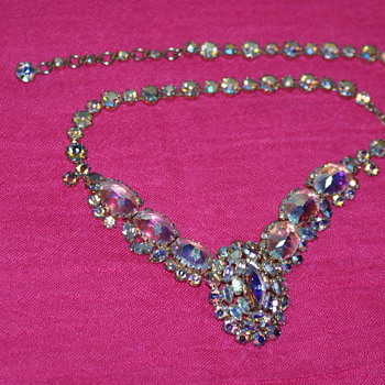 Sherman Vintage Necklace - Costume Jewelry