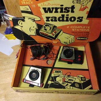 Remco Dick Tracy Two Way Wrist Radios - Toys