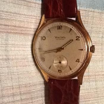 Wyler vetta incaflex gold watch