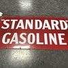Standard gasoline sign in rare red color