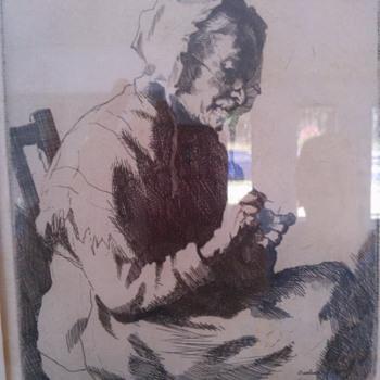 Raeburn Dobson Artwork - Fine Art