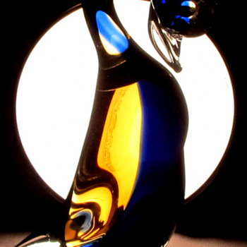 Murano bird by Cimarosti & Pinzan  - Art Glass
