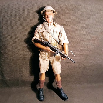 "Dragon WWII North Africa 1942 British 8th Army Sergeant ""Reggie"" 1/6 Scale - Toys"