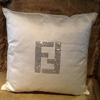 Fendi Swarovski pillow - Furniture
