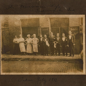 Restaurant Photos, c.1911 and c.1913 - Photographs