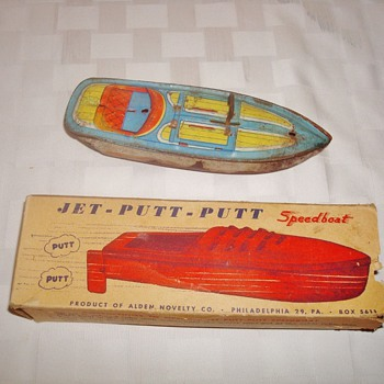 Jet Putt Putt Speedboat - Model Cars