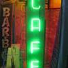 Vintage 1950's CAFE Antique Neon Sign