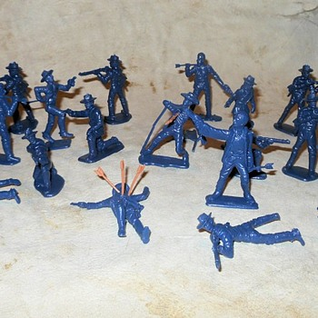 BMC Battle of the Little Big Horn Battle Cavalry Figures - Toys