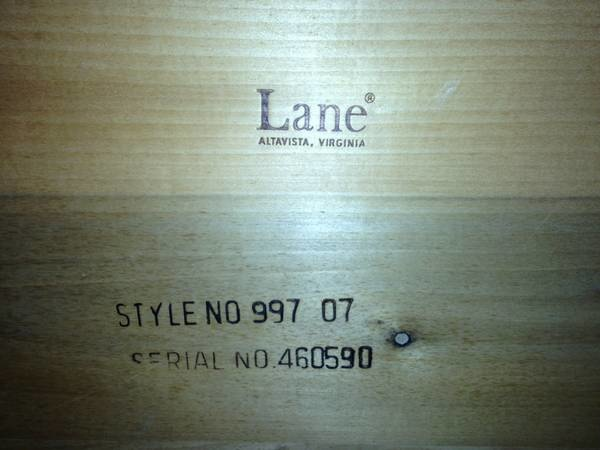 Lane Coffee Table Question Collectors Weekly