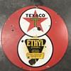 Texaco Red gas pump island sign