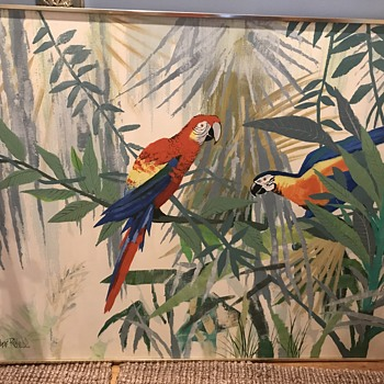 Lee Reynolds Parrot Painting - Fine Art