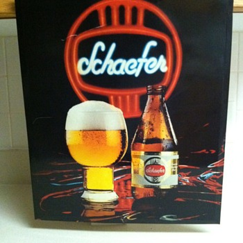 Schaefer Picture Frame - Signs