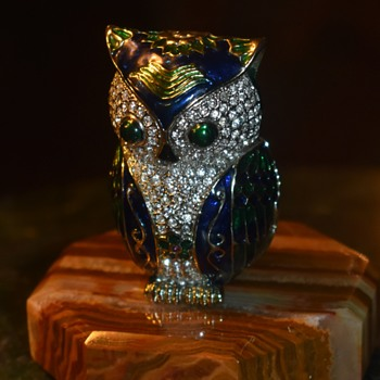 Owl Bling and Box! - Animals