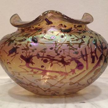 Kralik bacillus vase - Art Glass