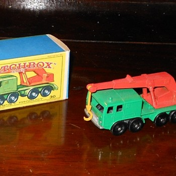 Matchbox 30-C 8 Wheel Crane - Model Cars