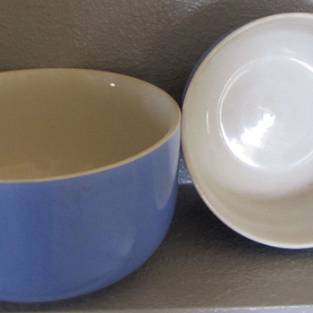 My Favorite Blue Mixing Bowls - Kitchen