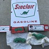 Sinclair Dino soap and oil truck soap