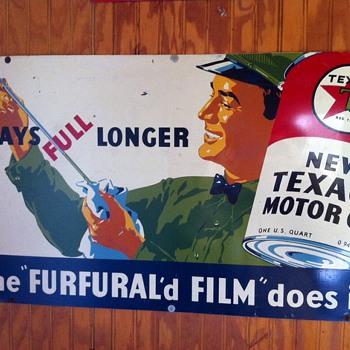 Various vintage signs - Petroliana