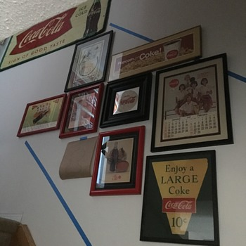 Miscellaneous Framed Coca-Cola - Coca-Cola