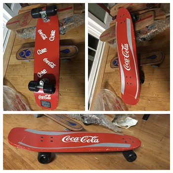 1980's Coke Skateboard - Sporting Goods