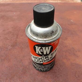 K & W Knock'er Loose Penetrating Lube - Petroliana
