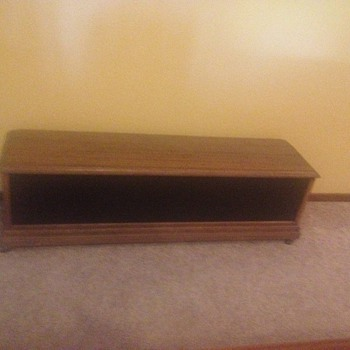 wooden box - Furniture