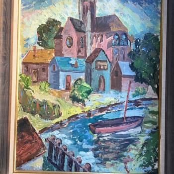 Impressionist Painting by Unknown Artist - Fine Art