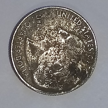 Weird looking error? - US Coins