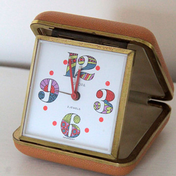 Funky Europa Travel Clock - Clocks