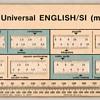 1976 - English / Metric Datalizer Slide Chart