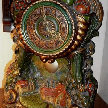 LUX Harvest Time Mantle Clock