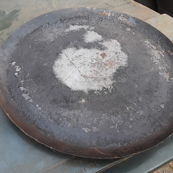 interesting (?) large steel griddle/pan - Kitchen