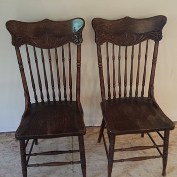 Old family chairs