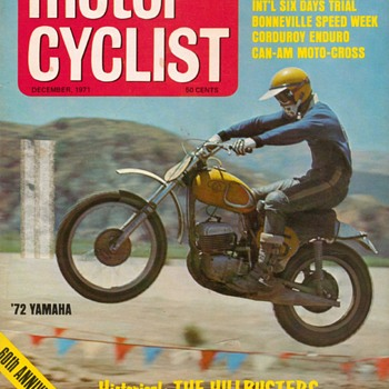 "1971 - ""Motor Cyclist"" Magazine - Paper"