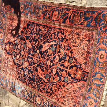 Help with age and origin of rug please