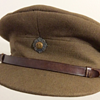 Scots Guards Officer's Service Dress cap.