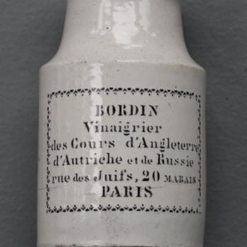 ~~~1850's French Mustard Jar~~~
