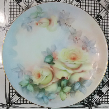 Hand-Painted Versus Decals!! - China and Dinnerware