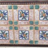 6 Tile Ceramic Wooden Frame